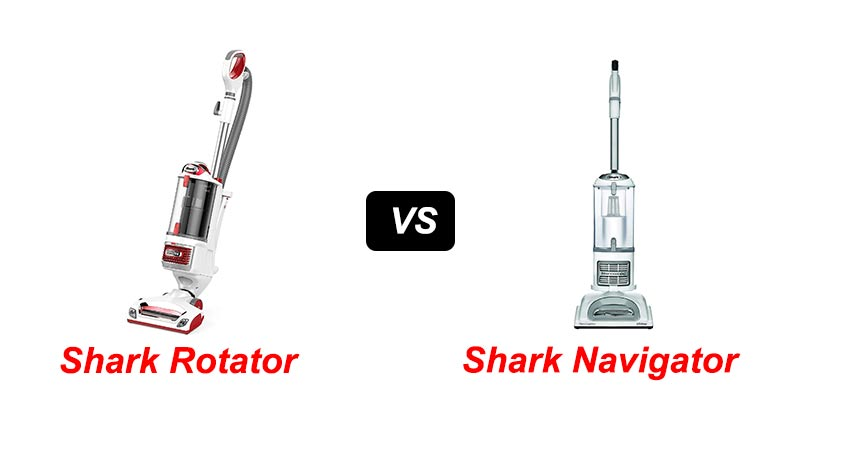 Shark Rotator vs Navigator