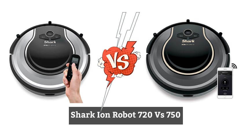 Shark Ion 720 vs 750