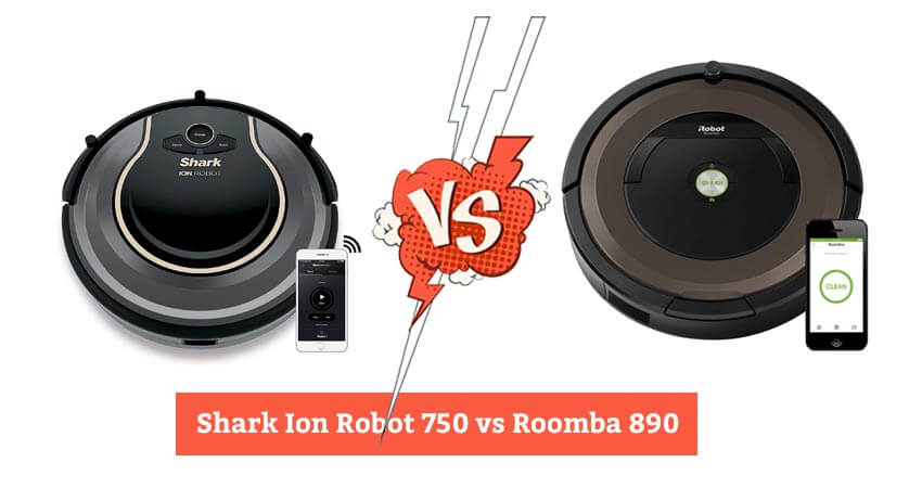 Shark Ion Robot 750 vs Roomba 890